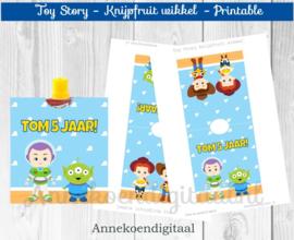 Toy Story knijpfruit wikkel
