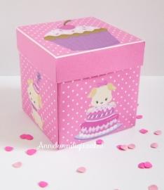 Puppy  Thee bonbon doosje Roze