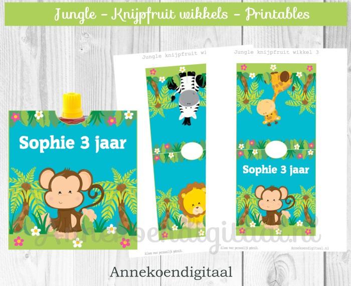 Jungle knijpfruit wikkel