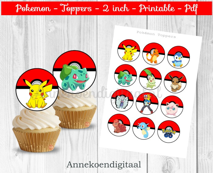 Pokemon Toppers 2 inch