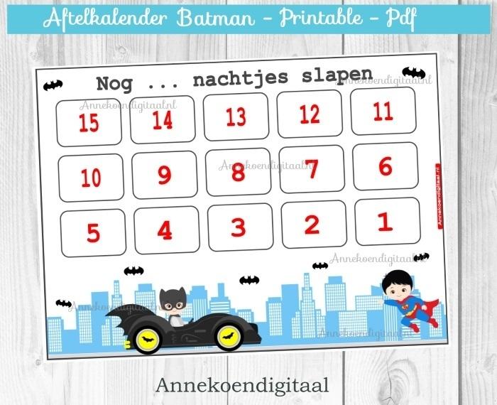Aftelkalender Batman