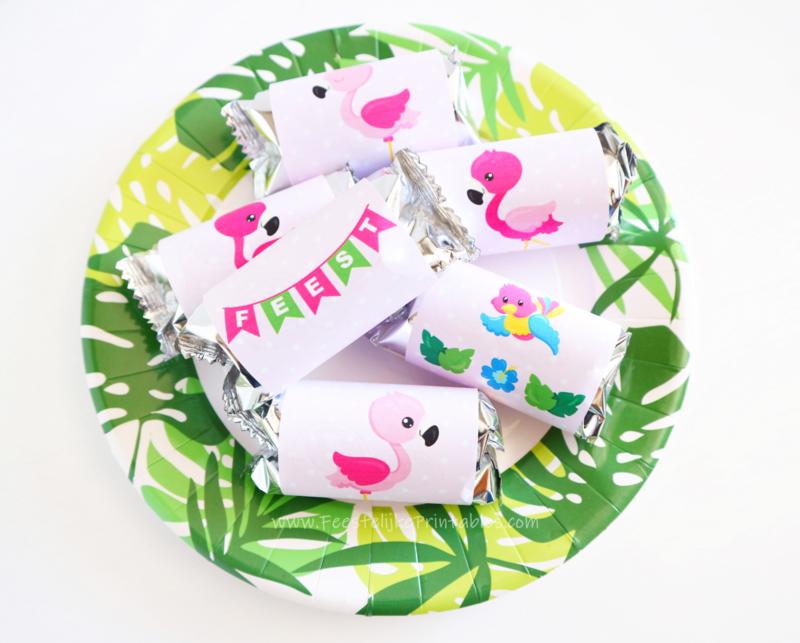 Flamingo traktatie Wikkels 3 maten