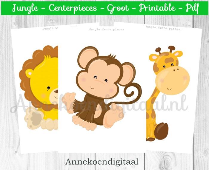 Jungle Centerpieces