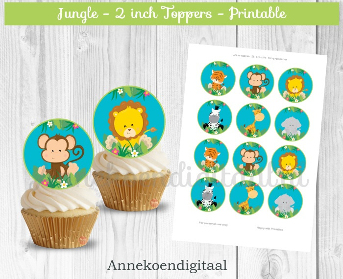 Jungle Toppers 2 inch