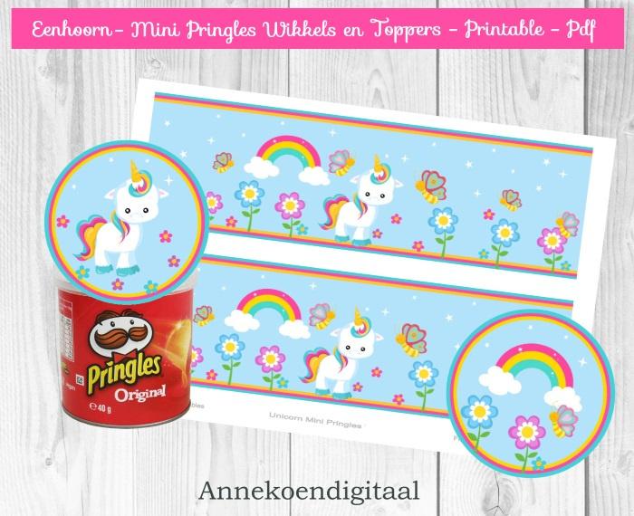 Eenhoorn Mini Pringles Wikkels