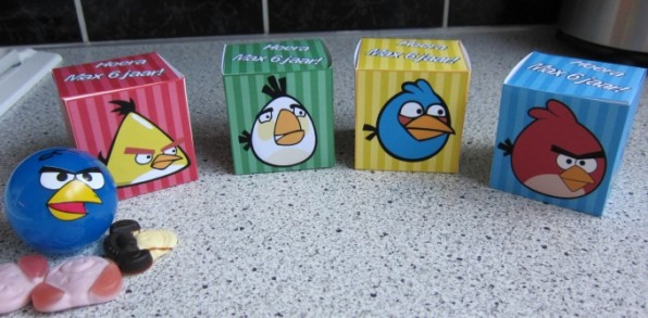Angry Birds van Max