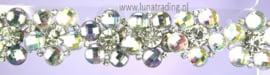 Display oorstekers High Rhinestones  12 paar  390