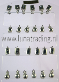 Display  clips 12 paar    183