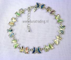 Enkelbandje vlinder ( 3stuks )
