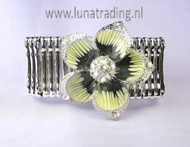 614 Armband rekbaar,  M/V 3 stuks