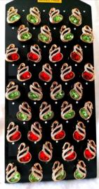 347 Display oorstekers Italiaans design 12 paar