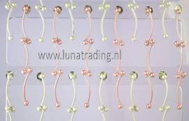 208  Display hangers 12 paar