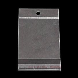 Cellofaan zak met sluiting 8 x 50