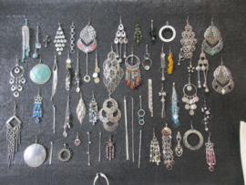 500 paar luxe oorbellen