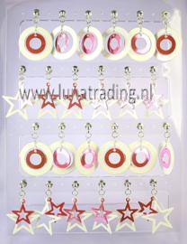 211  Display stekers 12 paar