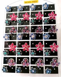 430 Display oorstekers Italiaans design 12 paar