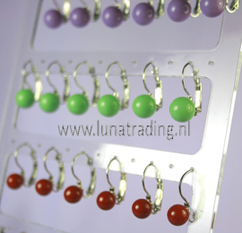 Display  oorhangers 12 paar    157