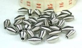 Spring Beads, platinumkleur 35 stuks