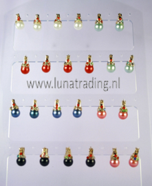 Display oorbellen 12 paar  550