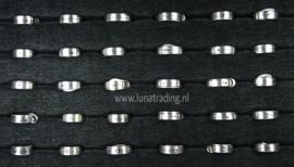 Diverse RVS ringen 30 stuks 1103