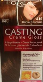 L'ORÉAL Casting Crème Gloss nr 415 midden kastanjebruin