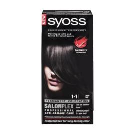 SYOSS 1-1 zwart
