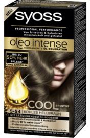 SYOSS Oleo Intense 5-54 cool lichtbruin/licht asbruin