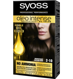 SYOSS Oleo Intense 2-10 Bruin Zwart