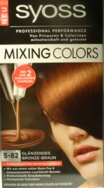 SYOSS mixing colors 5-82 Chocolate harmony/bronze bruin mix