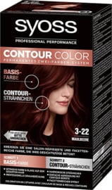 SYOSS Contour Color 3-22 Deep Mahony Red