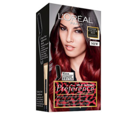 L'Oréal Préference Ombre Red