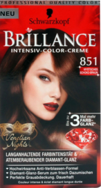 Schwarzkopf Brillance 851 mysterieus choco bruin