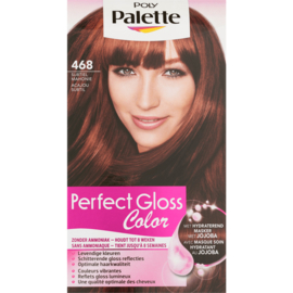 SCHWARZKOPF POLY PALETTE Perfect Gloss 468 Subtiel Mahonie / Acajou