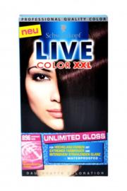 SCHWARZKOPF Live Color XXL 896 Midnight red/Rood-zwart