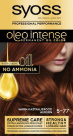 SYOSS Oleo Intense 5-77 Warm kastanjerood / auburn
