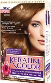 Schwarzkopf Kératine Color 5.5 Goudbruin