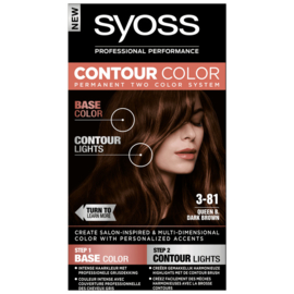 SYOSS Contour color 3-81 queen B donkerbruin