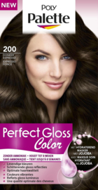 SCHWARZKOPF POLY PALETTE Perfect Care 200 donker espresso
