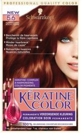 SCHWARZKOPF Kératine Color 5.6 koper mahonie