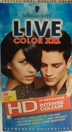 SCHWARZKOPF LIVE Color XXL nr 90 cosmic blue/blauw zwart