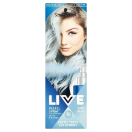 SCHWARZKOPF LIVE Pastel Spray Baby Blue