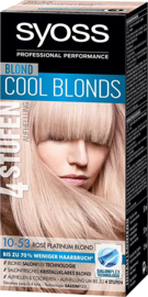 Syoss 10-53 Rose Platinum Blond