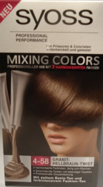 SYOSS mixing colors nr 4-58 cool mocca mix