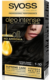 SYOSS Oleo Intense 1-10 Intens Zwart
