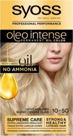 SYOSS Oleo Intense 10-50 Licht asblond