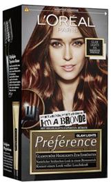 L'Oréal Préférence 6 Glam Bronde Mahonie