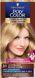 POLY COLOR NR 31 licht blond