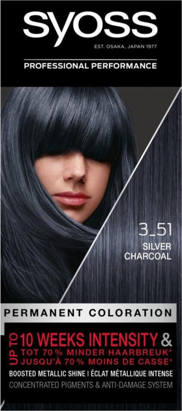 SYOSS 3-51 Silver Charcoal