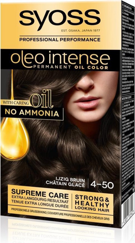 SYOSS Oleo Intense 4-50 IJzig bruin