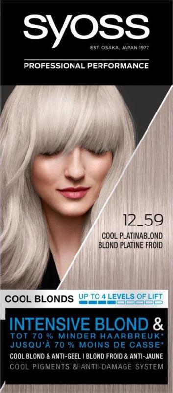 SYOSS 12-59 Cool Platina Blond